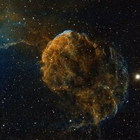 Feb 2017: Jellyfish Nebula© Peter Jenkins