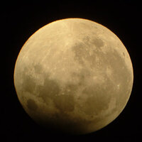 Sep 2006: Partial Lunar Eclipse © M. Knowles