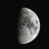 Apr 2014: First Quarter Moon© Martin Braddock