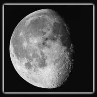 Jul 2015: Gibbous Moon© Ron Peet