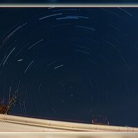 Jan 2015: Star Trails© Ron Peet